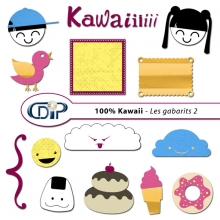 Kit « Kawaii » - 06 - Les gabarits 2