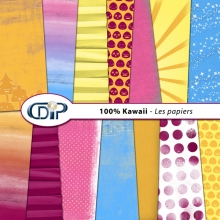 Kit « Kawaii » - 01 - Les textures