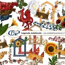 Kit « Légende médiévale » - 04 - Les embellissements 3
