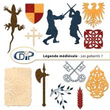 Kit « Légende médiévale » - 05 - Les gabarits 1