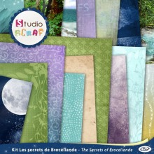 kit les secrets de Broceliande presentation textures web