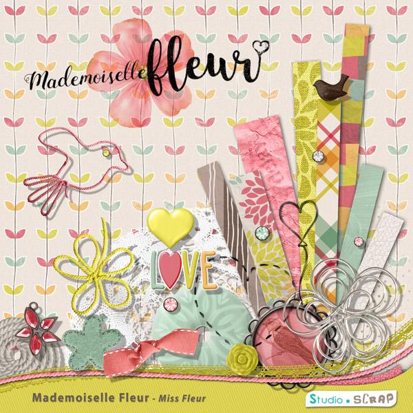 Kit « Mademoiselle Fleur »