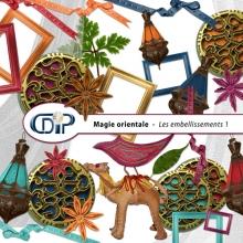 Kit « Magie orientale » - 02 - Les embellissements 1
