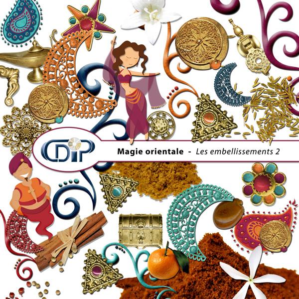 Kit « Magie orientale » - 03 - Les embellissements 2