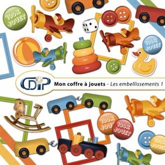 Kit « Mon coffre à jouets » - 02 - Les embellissements 1