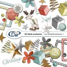 Kit « Noël enchanté » - 02 - Les embellissements 1
