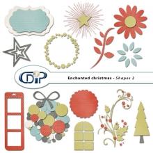 """Enchanted Christmas"" digital kit - 06 - Shapes 2"