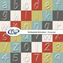 """Enchanted Christmas"" digital kit - 07 - Dropcaps"