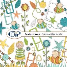 Kit « Papier crayon » - 02 - Les embellissements 1