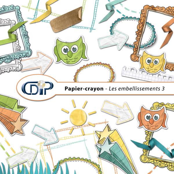Kit « Papier crayon » - 04 - Les embellissements 3