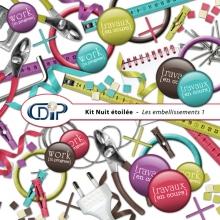 Kit « Passion déco » - 02 - Les embellissements 1