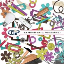 Kit « Passion déco » - 03 - Les embellissements 2
