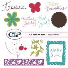 Kit « Passion déco » - 05 - Les gabarits 1