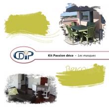 Kit « Passion déco » - 08 - Les masques