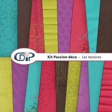Kit « Passion déco » - 01 - Les textures