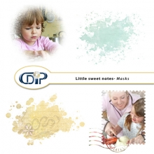 Little sweet notes kit masks