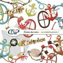 Kit « Pirates des mers » - 02 - Les embellissements 1