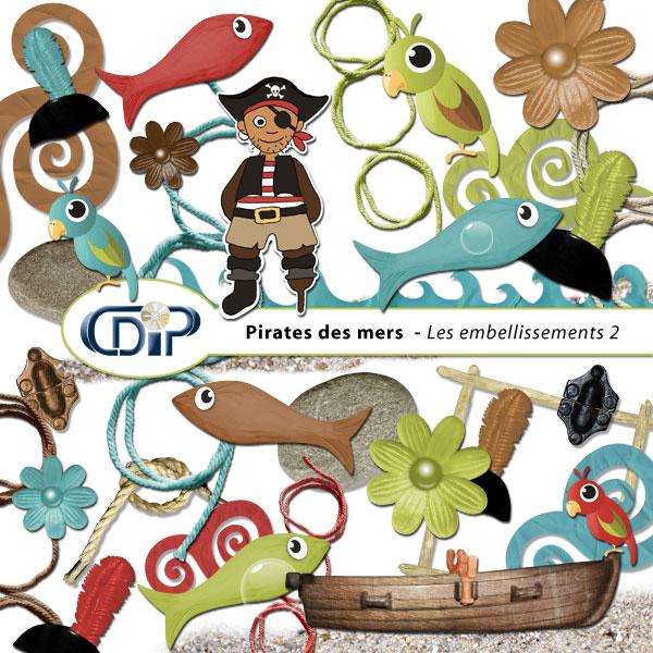 Kit « Pirates des mers » - 03 - Les embellissements 2