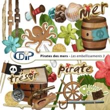 Kit « Pirates des mers » - 04 - Les embellissements 3