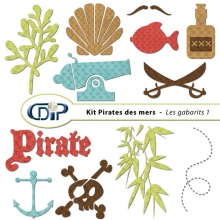 Kit « Pirates des mers » - 05 - Les gabarits 1