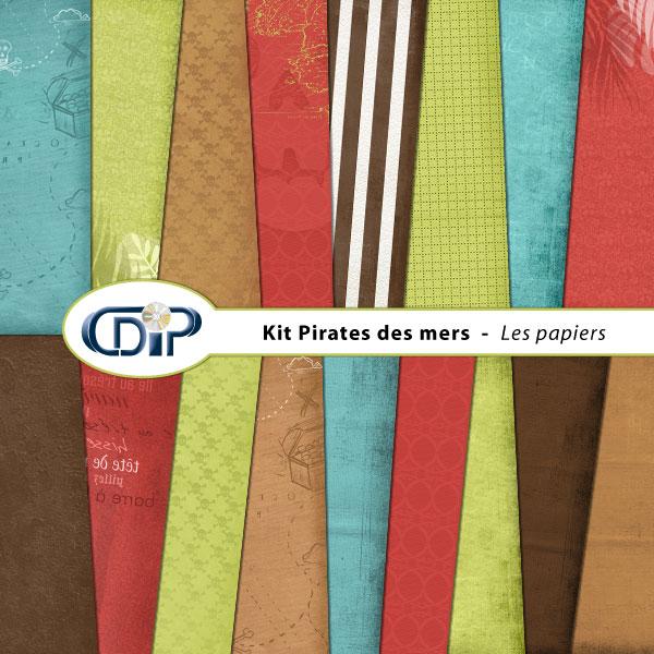 Kit « Pirates des mers » - 01 - Les textures