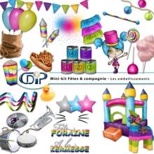 Mini-kit - Fêtes et compagnie - 11 - embellissements