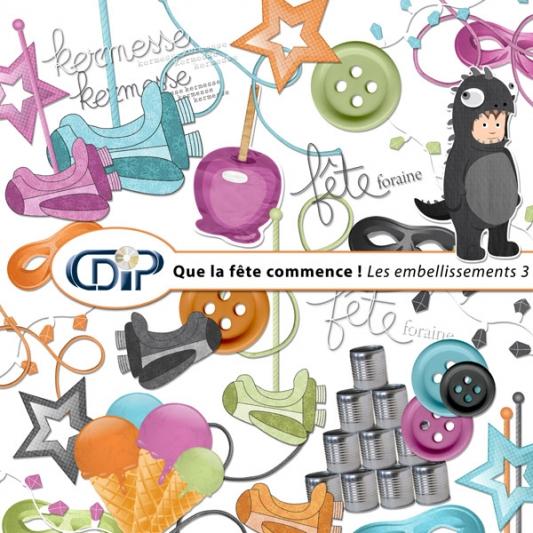 Kit « Que la fête commence » - 04 - Les embellissements 3