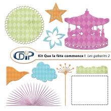 Kit « Que la fête commence » - 06 - Les gabarits 2