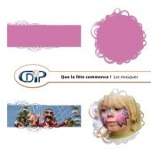 Kit « Que la fête commence » - 08 - Les masques