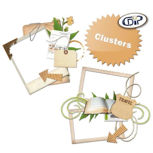 Kit « Récit de voyage » - 08 - Les clusters