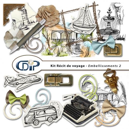 Kit « Récit de voyage » - 03 - Les embellissements 2