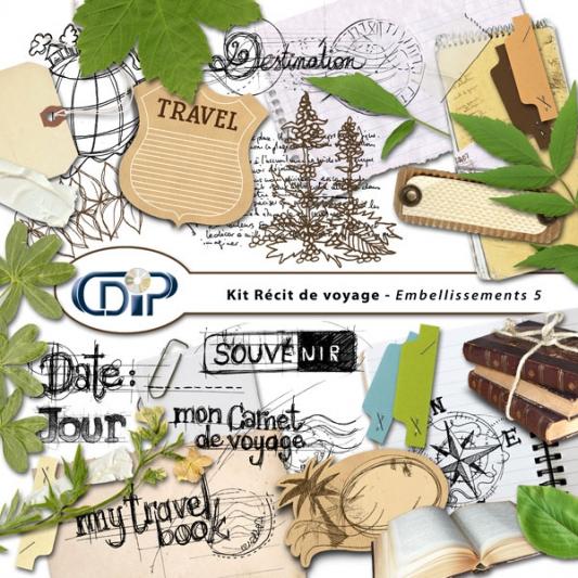 Kit « Récit de voyage » - 06 - Les embellissements 5
