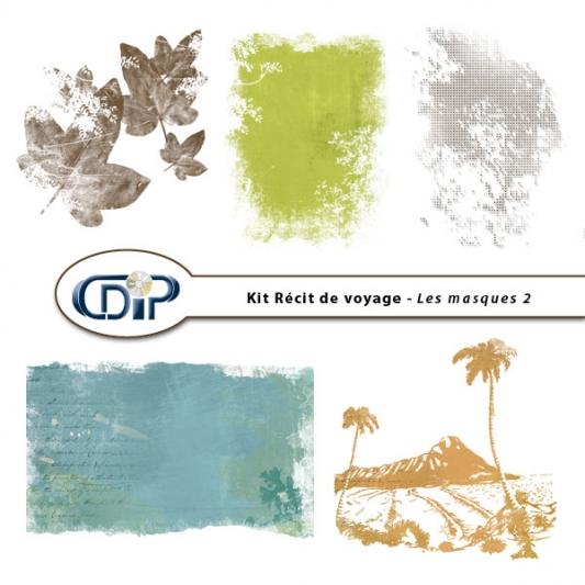Kit « Récit de voyage » - 10 - Masques