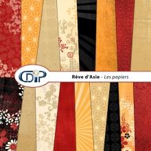 Kit « Rêve d'asie »  - 01 - Les textures