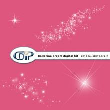 """""""Ballerina Dream"""" digital kit - 05 - Embellishments 4"""