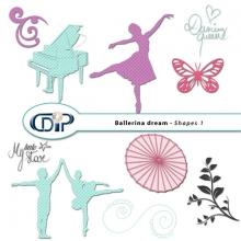 """Ballerina Dream"" digital kit - 06 - Shapes 1"