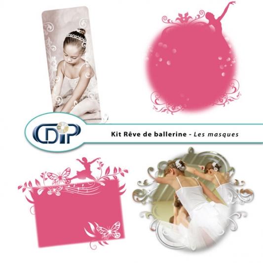 Kit « Rêve de ballerine » - 09 - Les masques