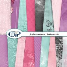 """""""Ballerina Dream"""" digital kit - 10 - Backgrounds"""
