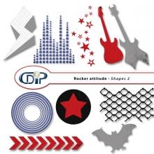 """""""Rocker attitude"""" digital kit - 06 - Shapes 2"""