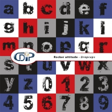 """Rocker attitude"" digital kit - 07 - Dropcaps"