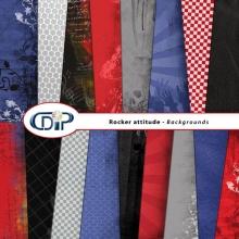 """Rocker attitude"" digital kit - 01 - Backgrounds"