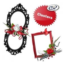 Kit « Rouge passion » - 08 - Les clusters