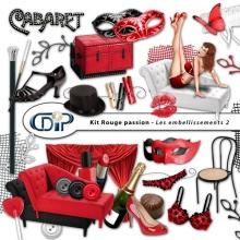 Kit « Rouge passion » - 03 - Les embellissements 2