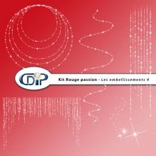 Kit « Rouge passion » - 05 - Les embellissements 4