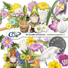 Kit « Souffle printanier » - 03 - Les embellissements 2