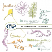 Kit « Souffle printanier » - 07 - Les gabarits 2