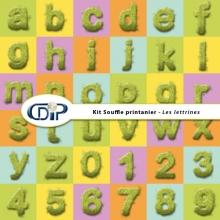 Kit « Souffle printanier » - 10 - Lettrines
