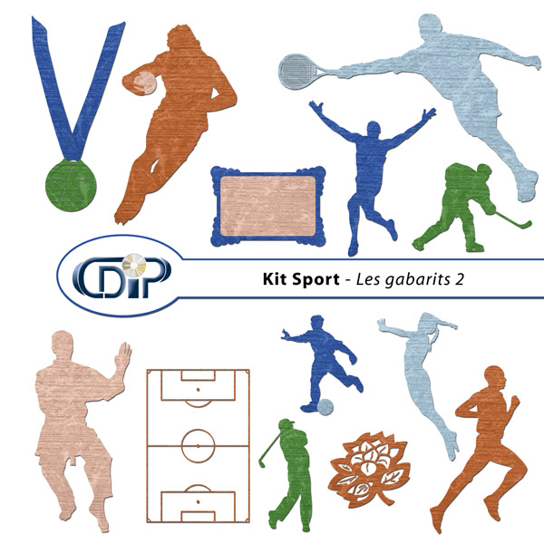 Kit « Sport » - 06 - Les gabarits 2