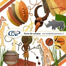 Kit « Terre de savane » - 03 - Les embellissements 2