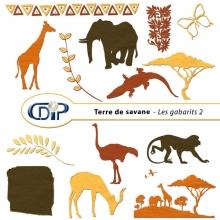 Kit « Terre de savane » - 06 - Les gabarits 2